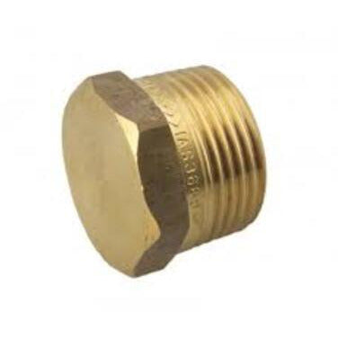 Brass Plug 6mm - PlumbersHQ