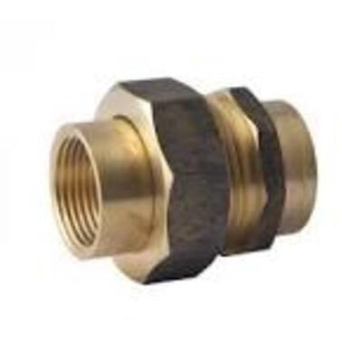Brass BSP Fitting Barrel Union - Heavy MF 50mm - PlumbersHQ