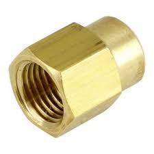 Brass Reducing Socket FF 6mm X 3mm - PlumbersHQ