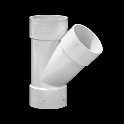 DWV Plain Junction 100mm X 45° (OB) - PlumbersHQ
