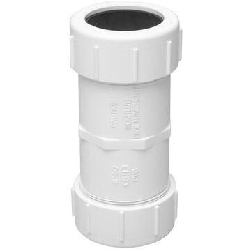 PVC Pressure Compression Coupling 40mm - PlumbersHQ