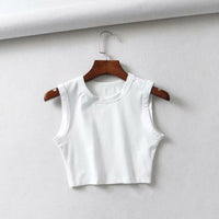 Yoga Crop Top WHITE