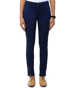 Dassler Slim-Fit Women's Blue Denim Jeans (Stretchable)