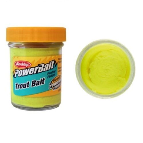 Berkley PowerBait Original Scent Trout Bait Sunshine Yellow