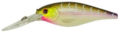 Berkley Flicker Shad Purple Tiger