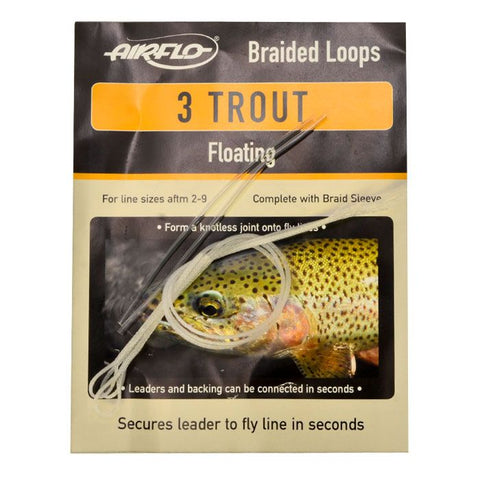 AIRFLO FLOATING BRAIDED LOOPS - TROUT