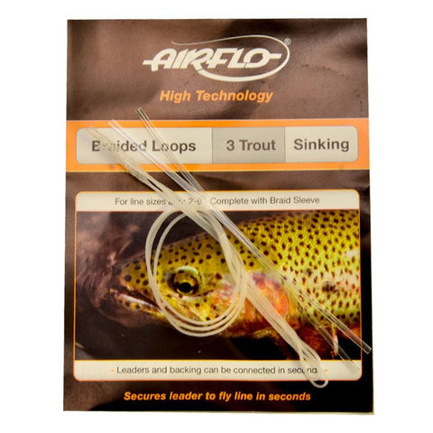 AIRFLO SINKING BRAIDED LOOPS - TROUT