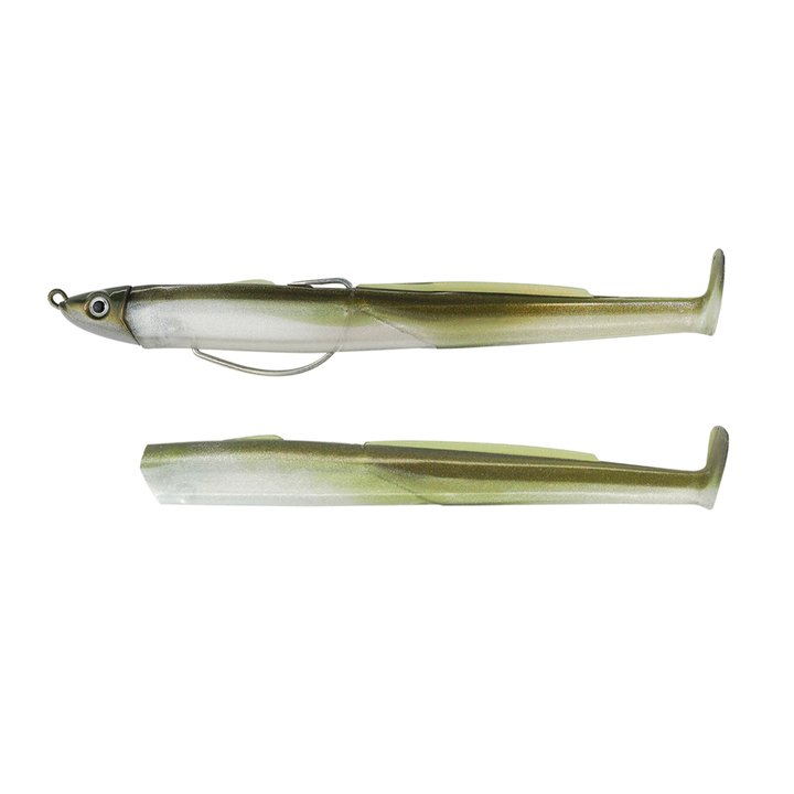 Fiiish Black EEL 110 Combo Shallow - 4g - Khaki + Khaki body BE1264