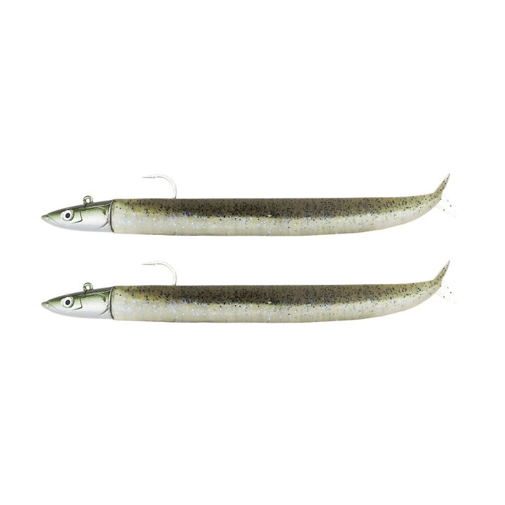 Fiiish Crazy Sand EEL 120 Double Combo Extra Deep - 25g - Electric Grey CSE1291