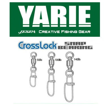 YARIE 554 Bearing Swivel With Crosslock Snap