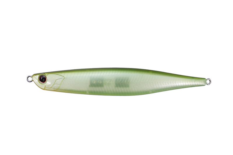 OSP BENT MINNOW 106F Ghost Lime Chart