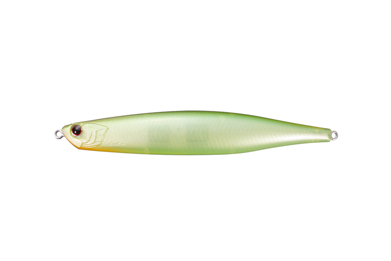 OSP BENT MINNOW 130F Ghost Lime Chart