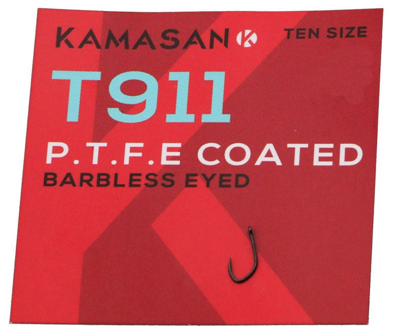 Kamasan T911 Barbless Eyed Hooks