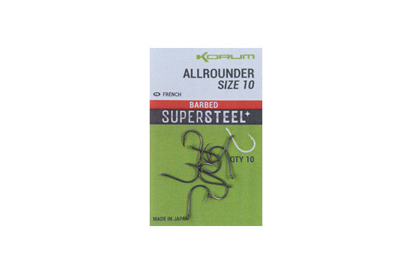 Korum Supersteel Allrounder Hooks