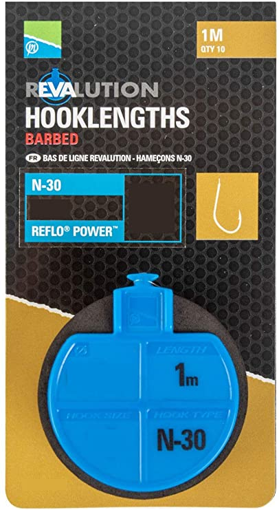 Preston Innovations Revalution Hooklengths - N30