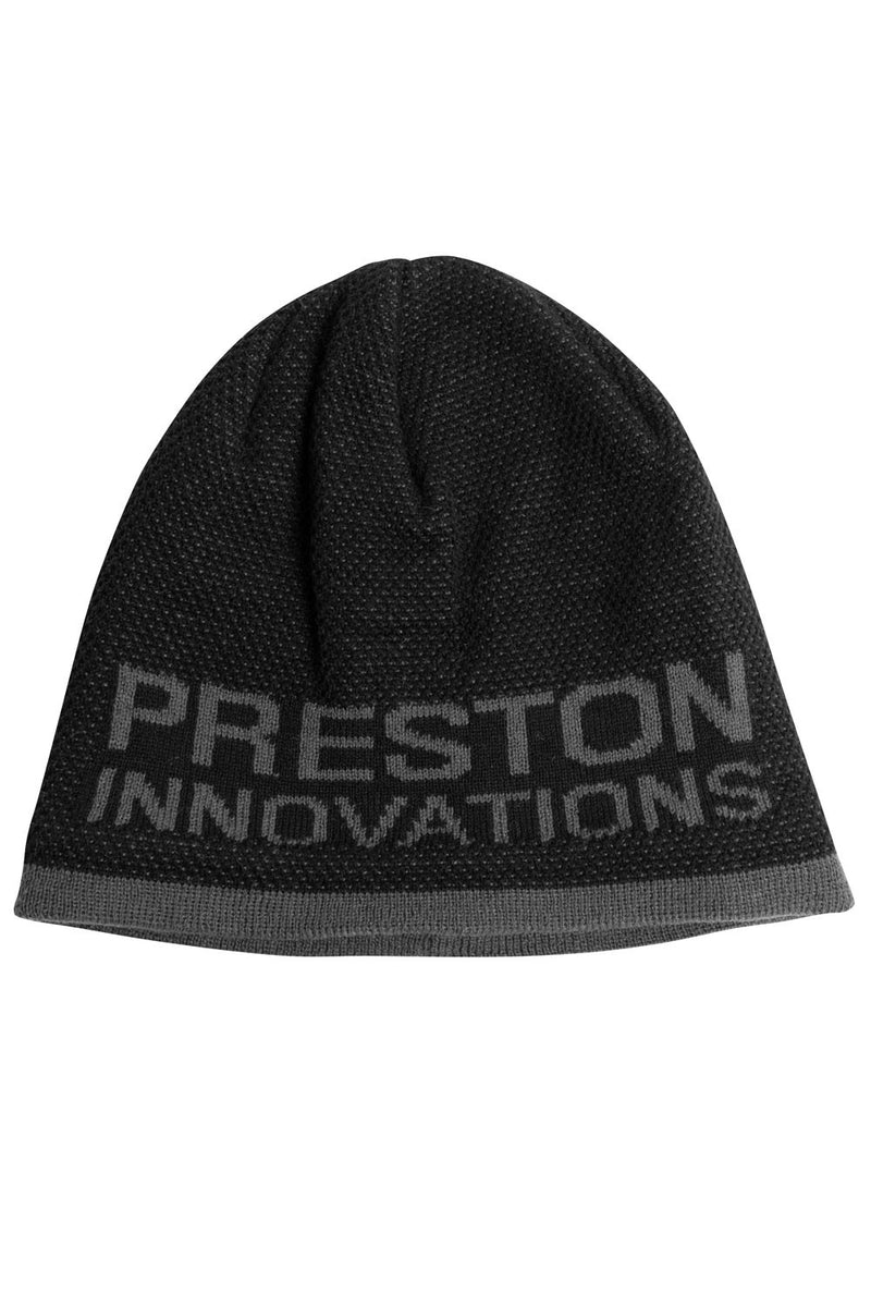 Preston Innovations Black/ Grey Beanie