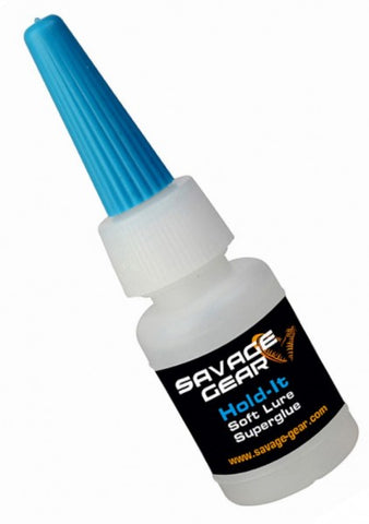 Savagear Hold-it Soft Lure Superglue 8ml 47025