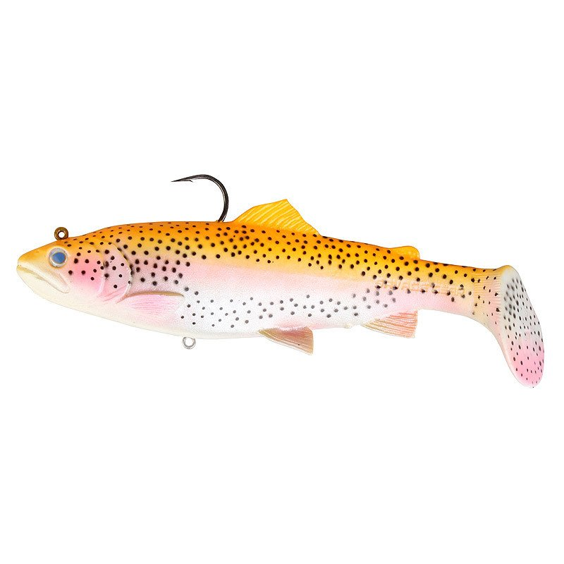 Savage Gear 3D Trout Rattle Shad 12.5cm 35g 02-Golden Albino Rainbow