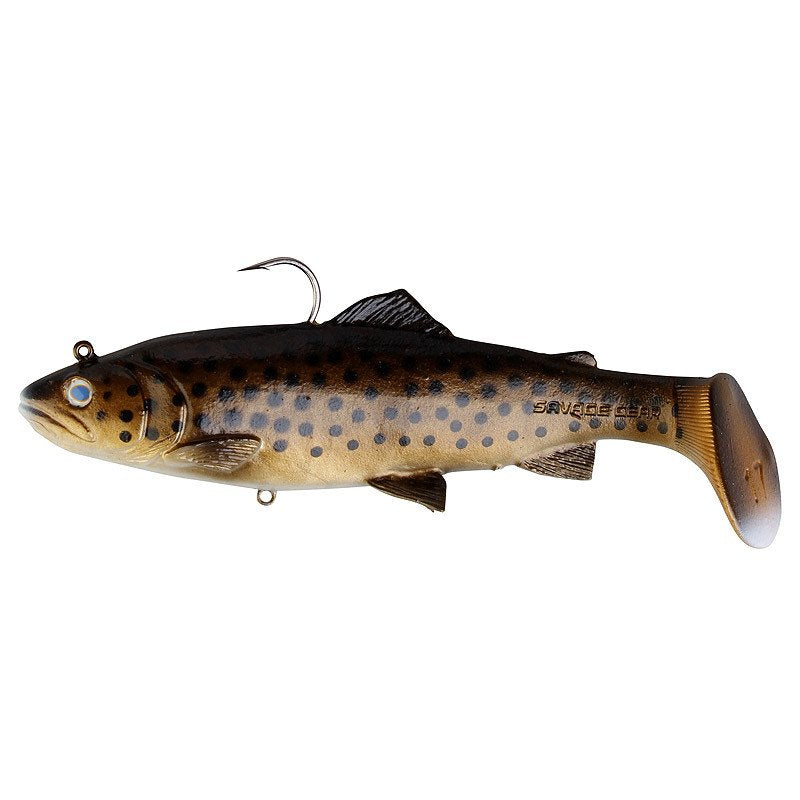 Savage Gear 3D Trout Rattle Shad 17cm 80g 03-Dark Brown Trout 47087