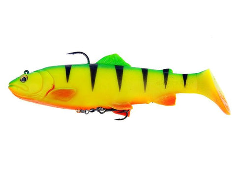 SG 3D Trout Rattle Shad 12.5cm 35g MS 05-Firetiger