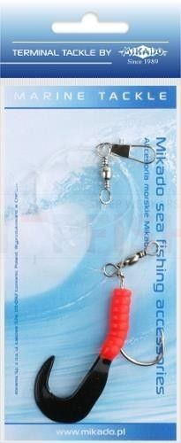 MIKADO PILK TWIST RIG 5.5cm - hook 4/0 (RED/BLACK)