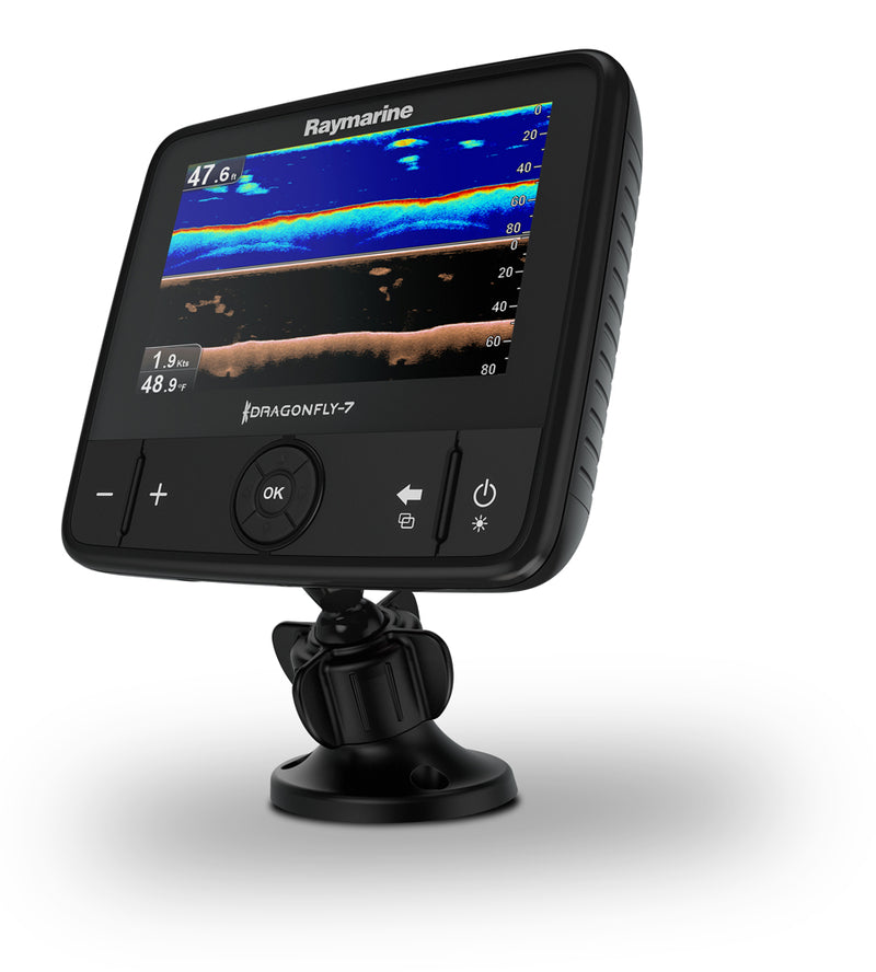 RAYMARINE DRAGONFLY 7PRO 7'' CHIRP DV SONAR WITH CHARTPLOTTER C-Map EU Essentials