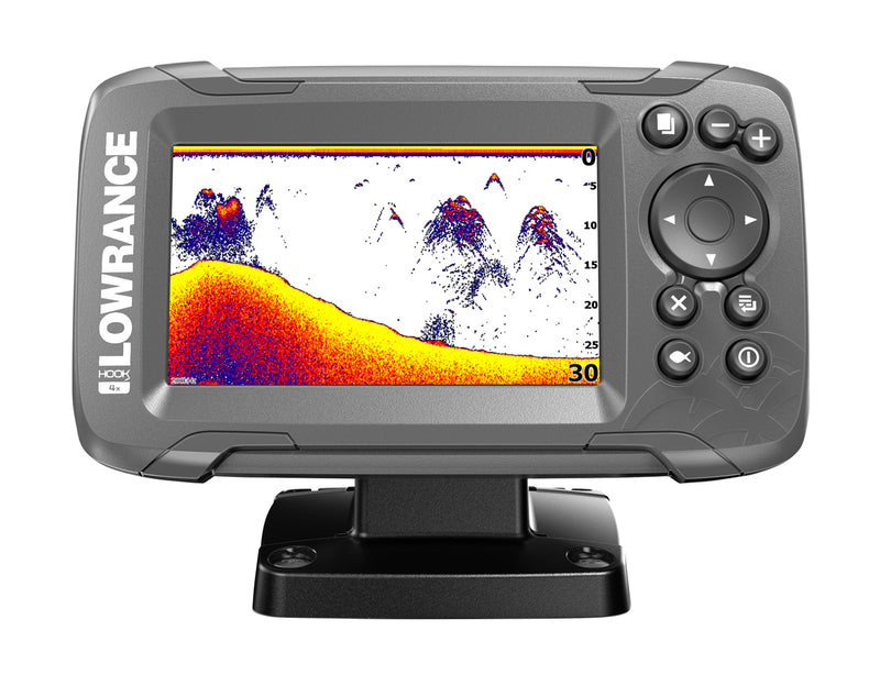 LOWRANCE HOOK2-4x Fishfinder with Bullet Skimmer
