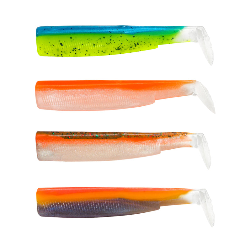Fiiish Black Minnow 120 Color Box UV - Sleepy Green - Orange Fluo - Candy Green - Sunrise BM953