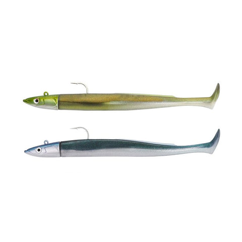 Fiiish Crazy Paddle Tail Double Combo Off Shore 20g Khaki - Pearly Blue CPT1226