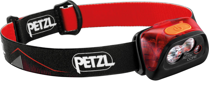 Petzl Actik Core 450 Lumen Red