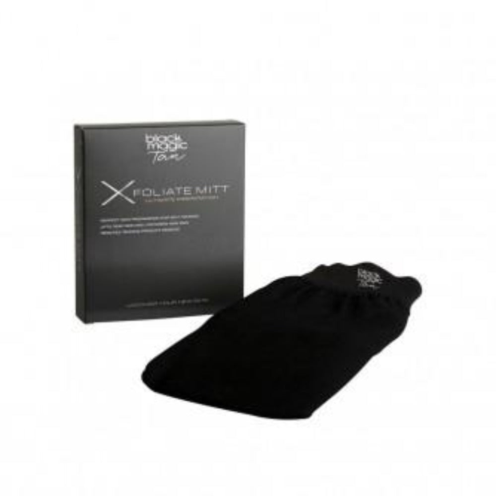 Black Magic Tan Xfoliating Mitt
