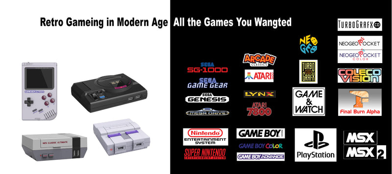 The Ways to Play Old School Games in Modern Age