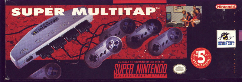 Multi-Player (Multitap) Games on SNES
