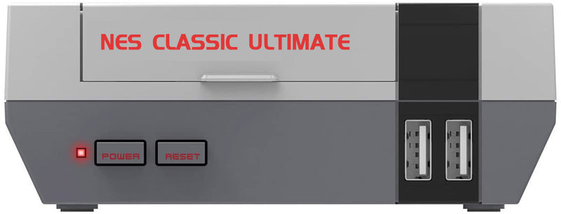 Nintendo Super NES & NES Classic Edition Ultimate Remake w/ built-in Full Collection of NES, SNES, Famicom, Super Famicom Games, 2 Classic Controllers, 1080p HDMI Output - Game Gear