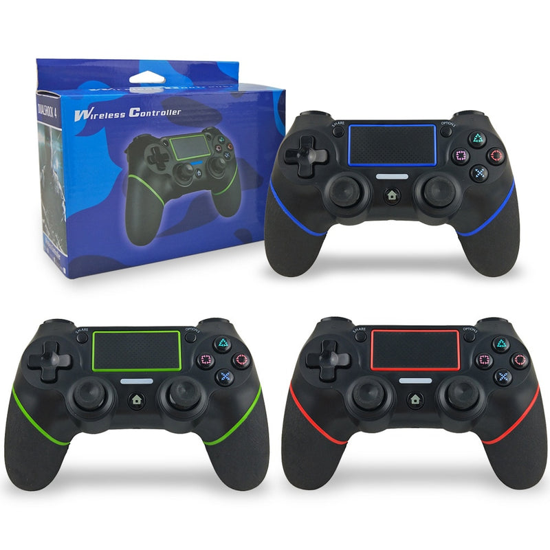 PlayStation 4 Wireless Controller PS4 Controller with Bluetooth, Vibration and Built-in Battery - Game Gear