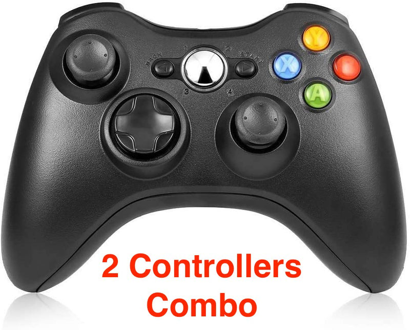 Wireless Controller Kit for Retro Game Console Series - NES/SNES Basic & Ultimate, SEGA Genesis Mini, R1, PC and Xbox 360 - 2 or 4 Players - Game Gear