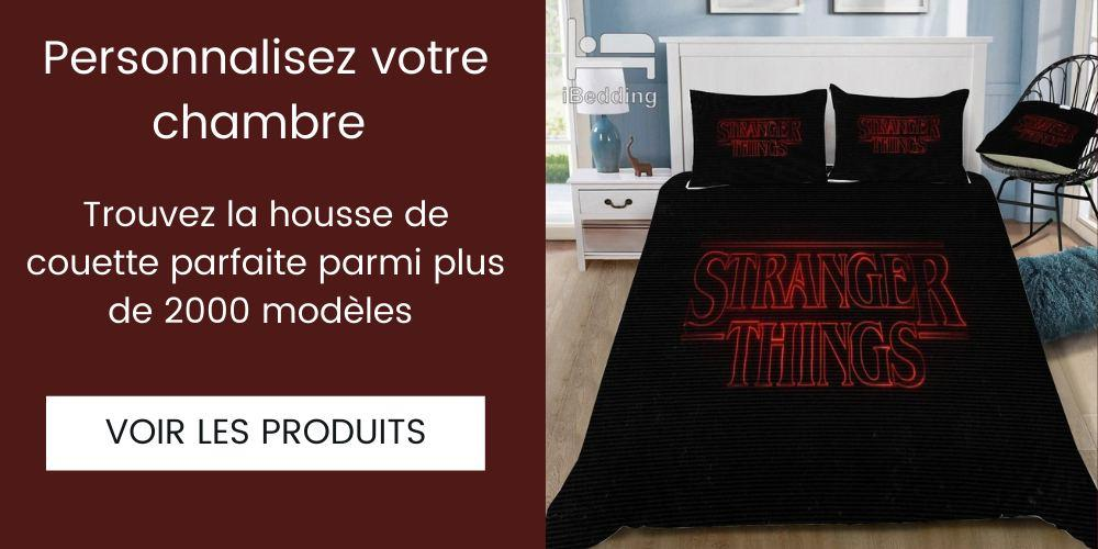 direction collection housse de couette strangers things