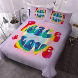 Housse de Couette Originale Peace & Love