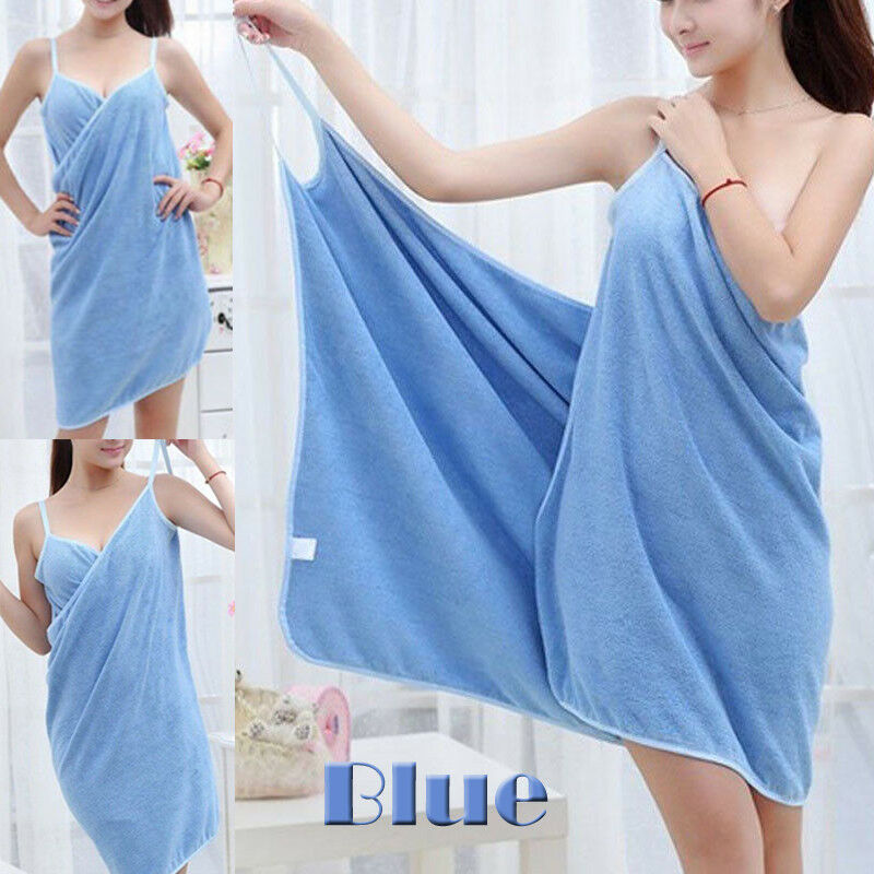 Home Textile Towel Women Robes Bath Wearable Towel Dress Womens Lady Fast Drying Beach Spa Magical Nightwear Sleeping
