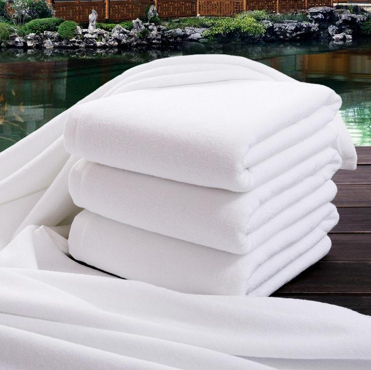 Super Soft White Towel Beauty 2020