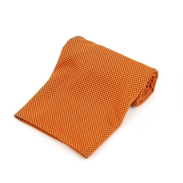 Fitness Fast Cold Sense Sports Towel Portable Microfiber Fabric Quick-drying Ice Towel Yoga Outdoor Sports Towel