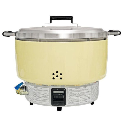Thunder Group Rinnai 55 Cups (Raw) Liquid Propane Gas Rice Cooker RER-55AS-L