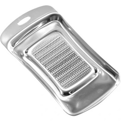 Large Stainless Steel Ginger Grater with Handle