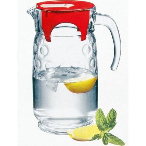 Space Jug with Plastic Red Lid 1.65L