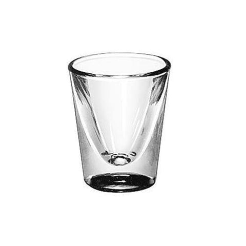 Wide Whiskey Shot Glass 1oz