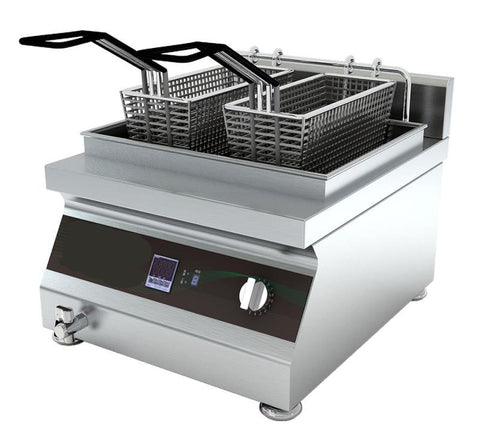 Tabletop Induction Deep Fryer