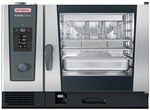 Rational iCombi Classic Single 6-Full Size Combi Oven (Natural Gas) with ClimaPlus Technology - 208/240V, 1 Phase