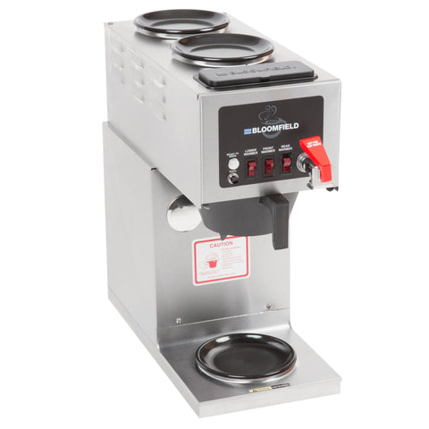 Bloomfield 9012D3F 3 Warmer in Line Brewer