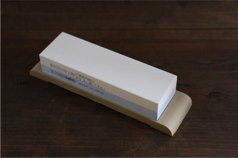 Mini Suehiro Sharpening Stone for Knives 1000/300 Grit