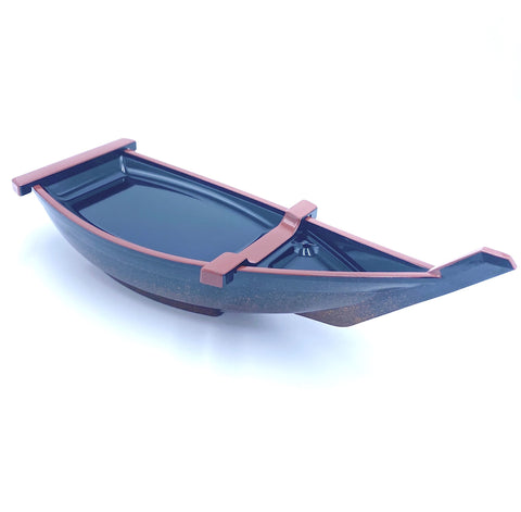 Small Resin Lacquer Sushi Boat
